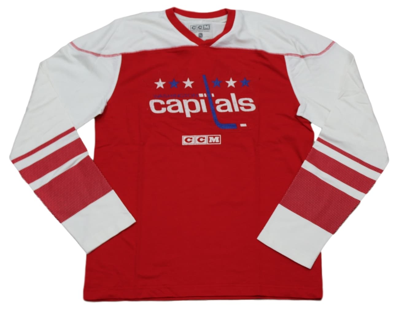 "Washington Capitals CCM NHL ""Better Days"" Men's Long Sleeve Crew Shirt"