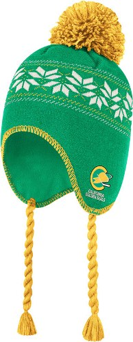California Seals CCM Tassel Pom Snowflake Knit Hat