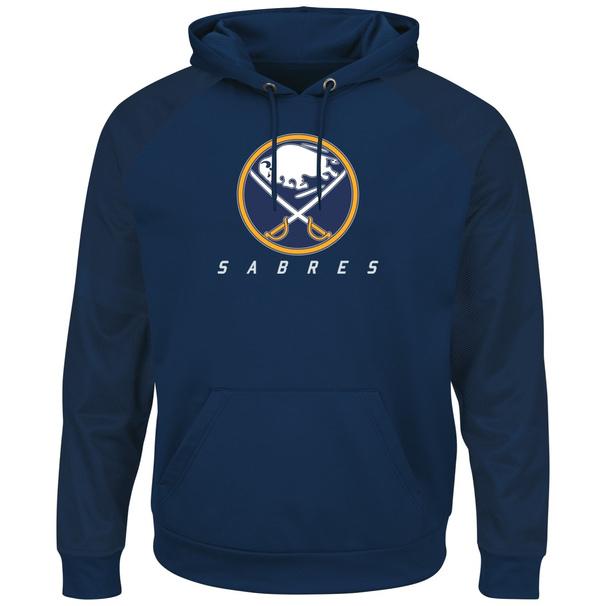 "Buffalo Sabres Majestic NHL ""Penalty Shot"" Men's Hooded Therma Base Sweatshirt"