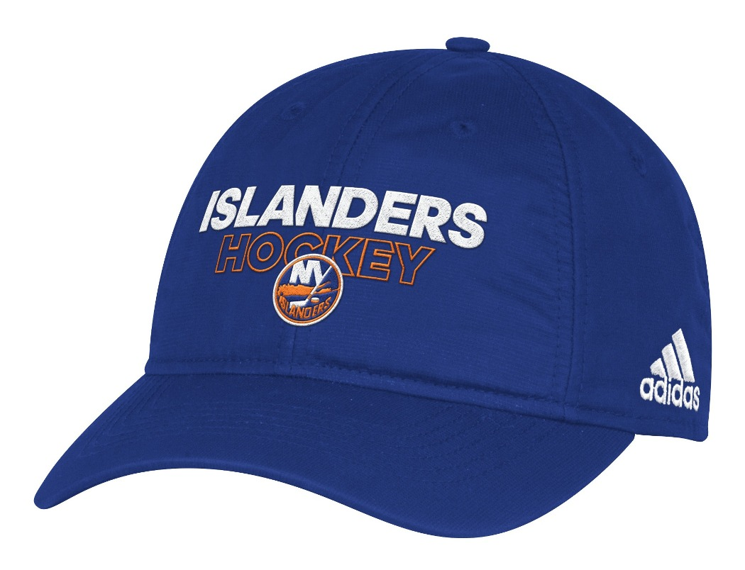 New York Islanders Adidas NHL Authentic Slouch Adjustable Hat