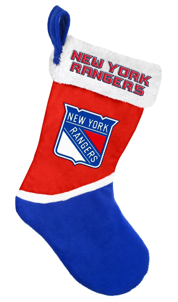 New York Rangers 2015 NHL Basic Logo Christmas Stocking