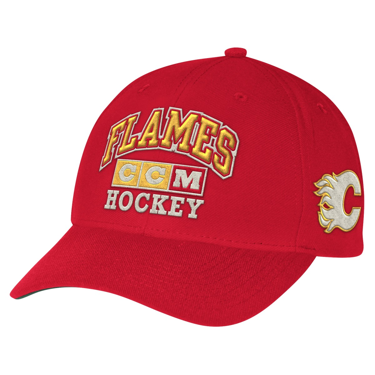 "Calgary Flames CCM NHL ""Vintage"" Structured Adjustable Hat"