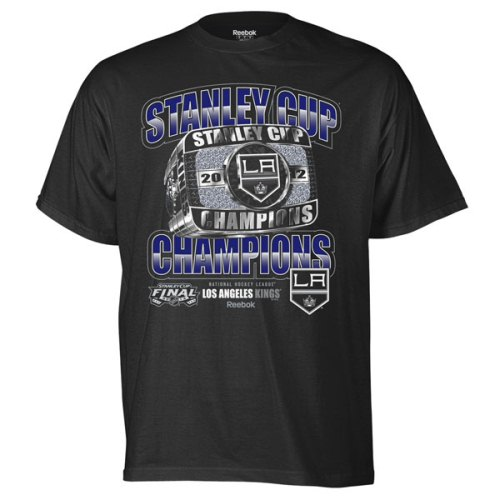 Los Angeles Kings 2012 Stanley Cup Champions Reebok Lord Stanleys Ring T-Shirt