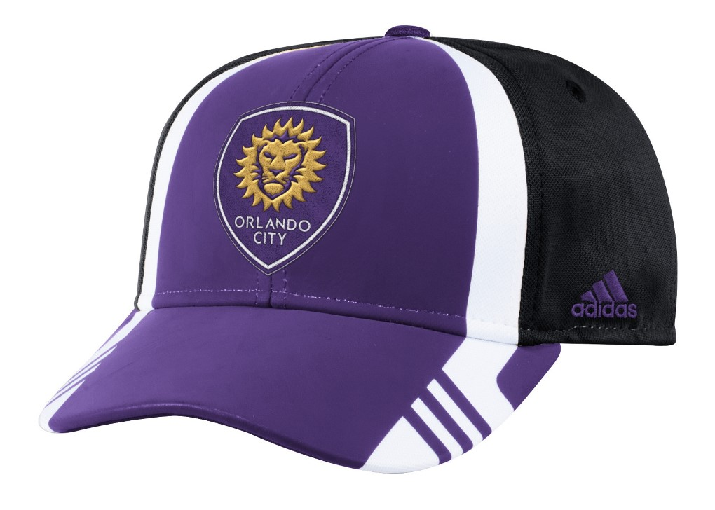 Orlando City SC Adidas MLS 2017 Authentic Team Structured Adjustable Hat