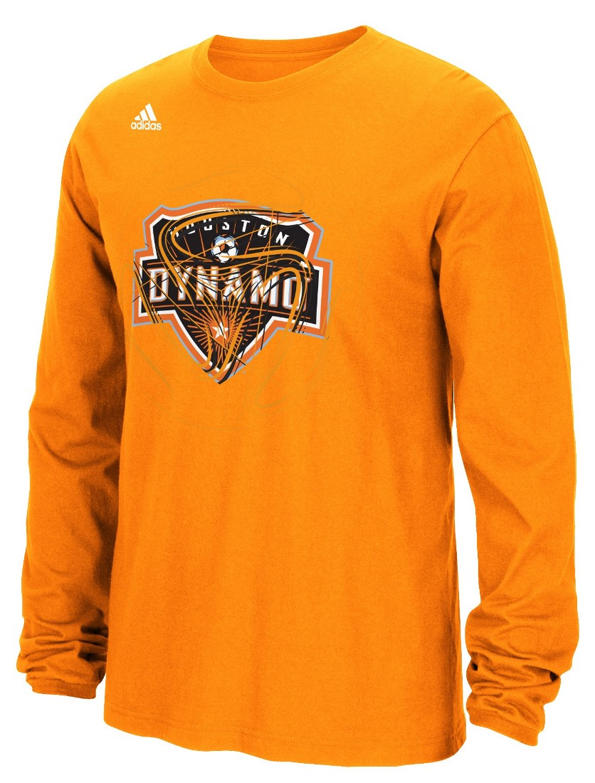 "Houston Dynamo Adidas MLS ""Prime Time II"" Long Sleeve T-Shirt"