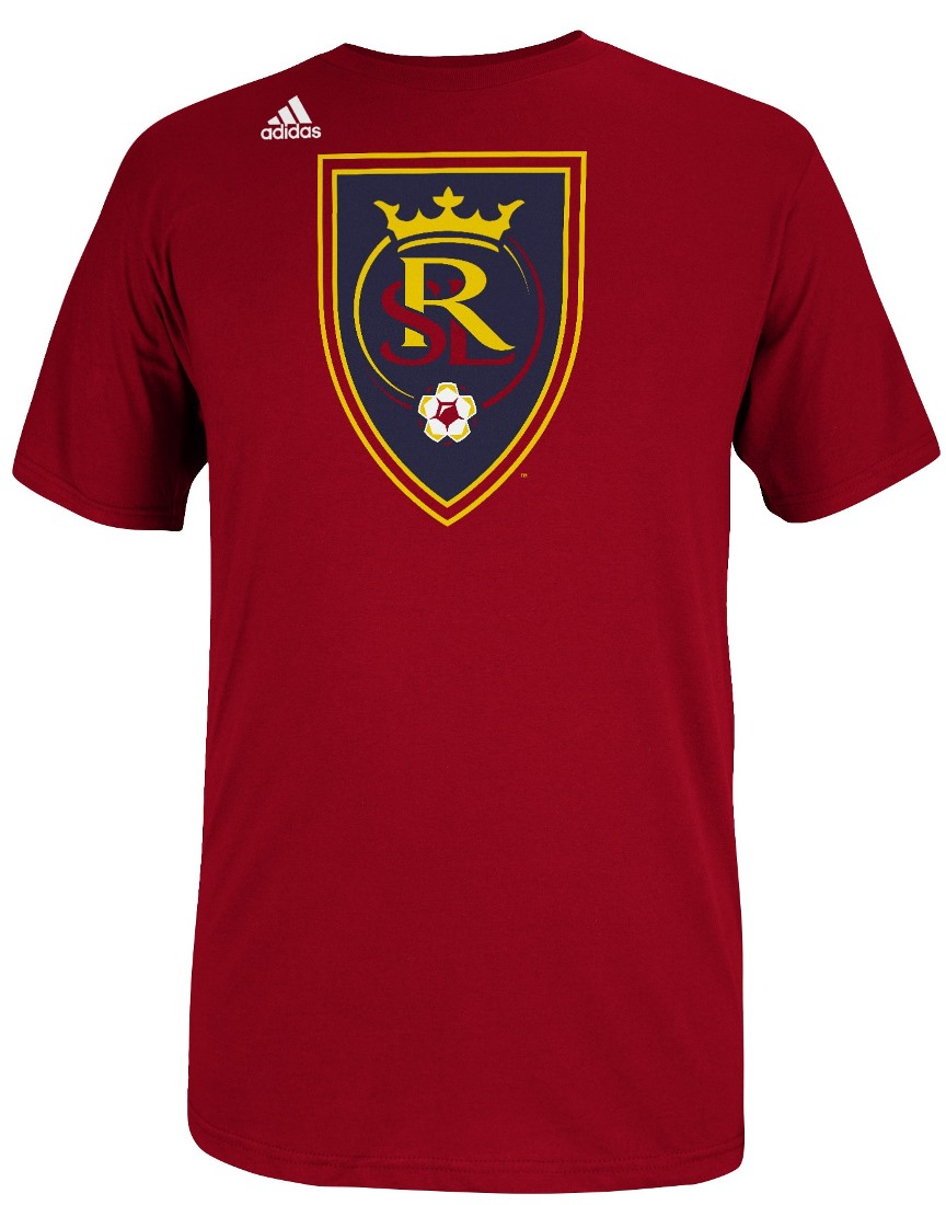Real Salt Lake Adidas MLS Primary Logo T-Shirt - Red