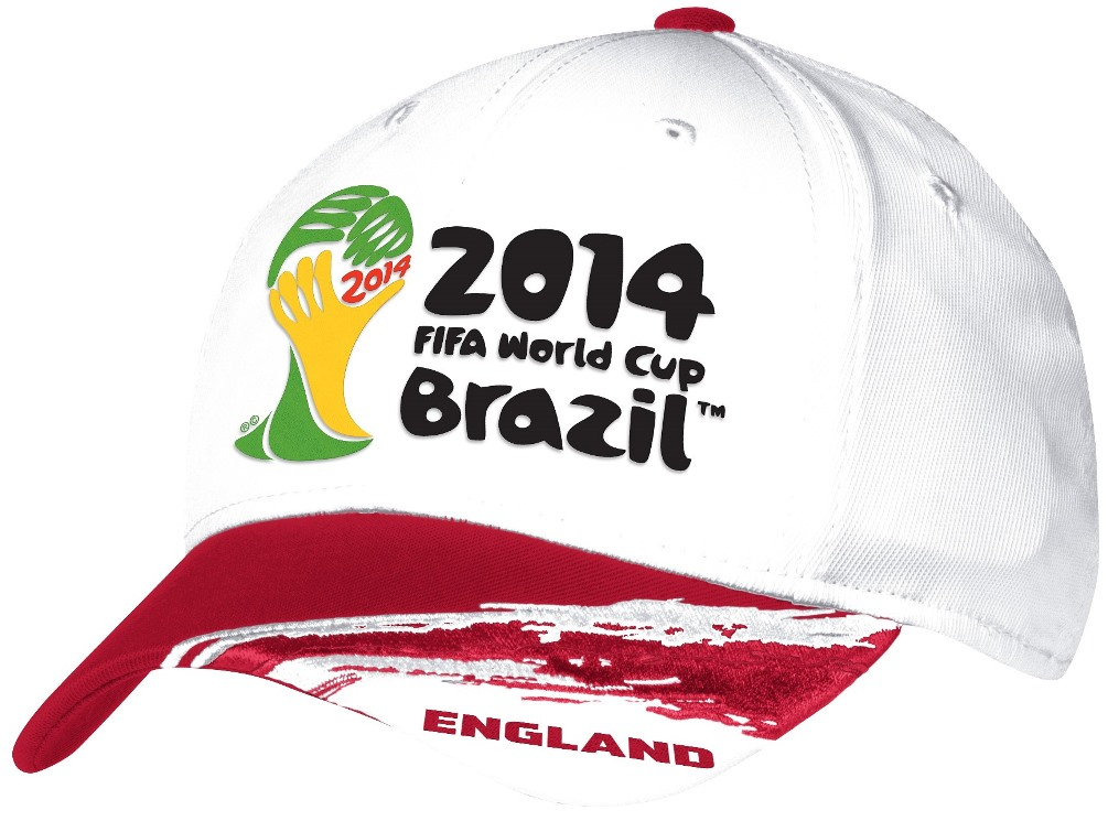 England Adidas 2014 FIFA World Cup Structured Flex Hat - White