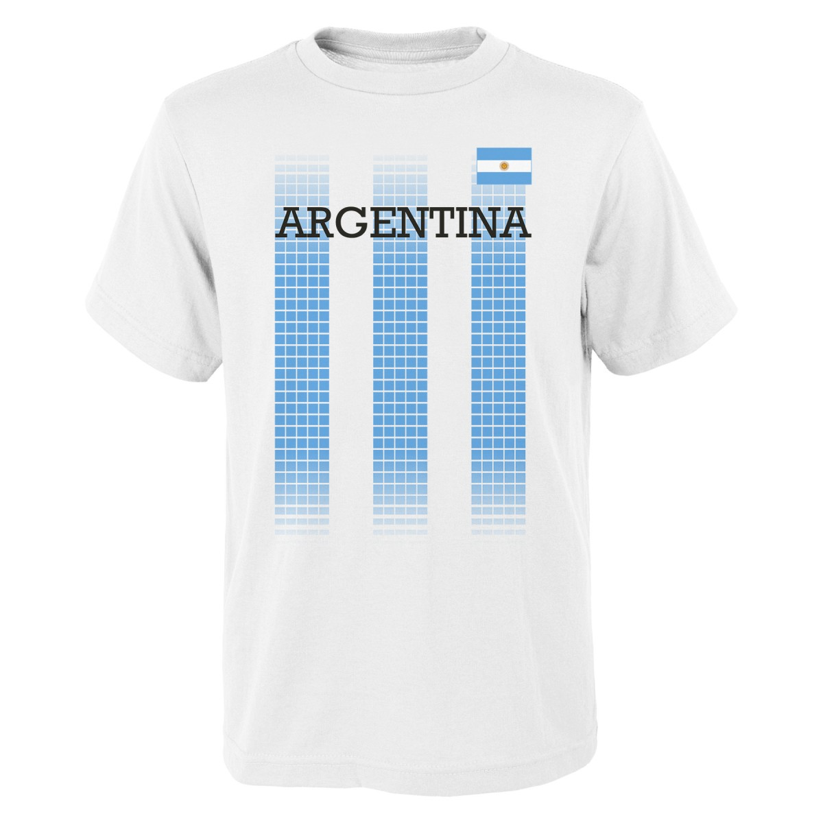 "Team Argentina World Cup Soccer Federation ""One Team"" Men's T-Shirt"