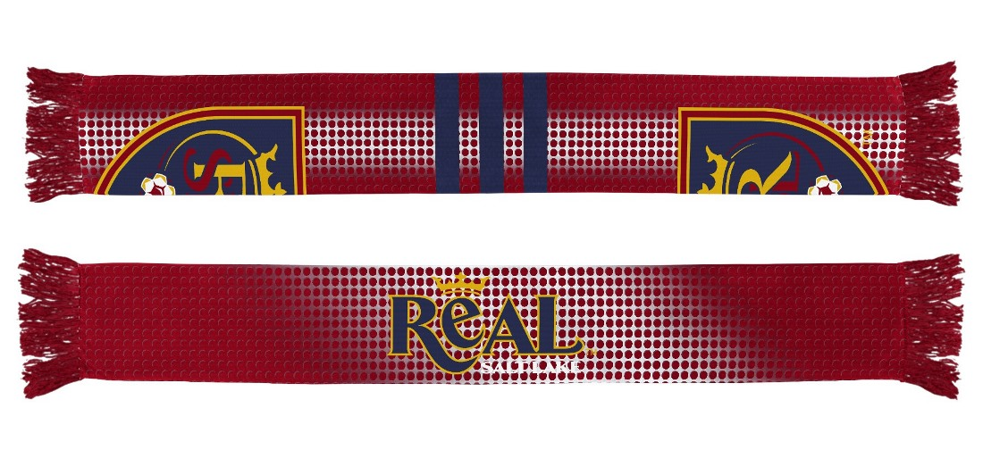 "Real Salt Lake Adidas MLS ""Performance"" Sublimated Team Scarf"