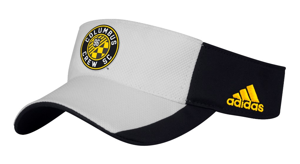 Columbus Crew Adidas MLS Performance Adjustable Visor