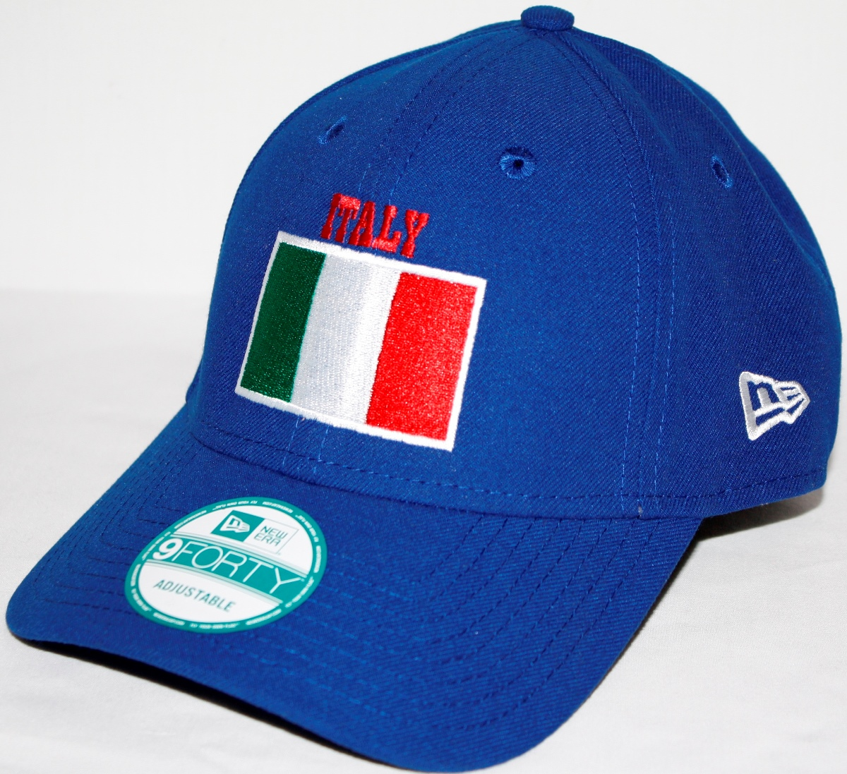 Italy Italia New Era 9Forty Adjustable Hat - Royal Blue