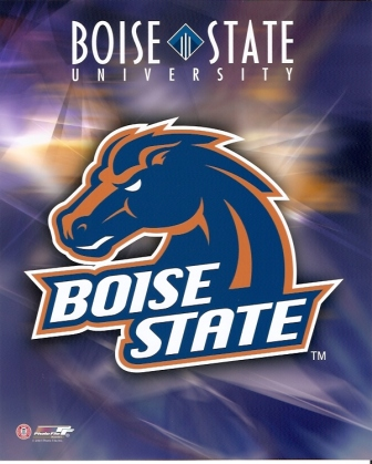 Boise State Broncos Logo 8x10 Photo