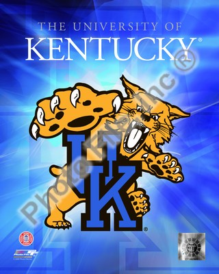 Kentucky Wildcats NCAA Logo 8x10 Photo
