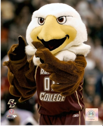 Boston College Eagles Mascot 8x10 Photo