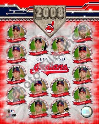 Cleveland Indians 2008 Team Composite 8x10