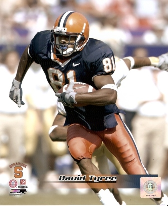 David Tyree Syracuse Orange 8x10 Photo