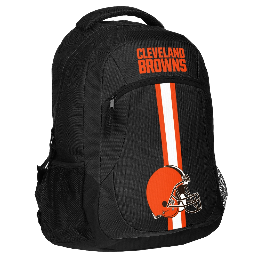 "Cleveland Browns NFL ""Action"" Air-Mesh Structured Lightweight Backpack"
