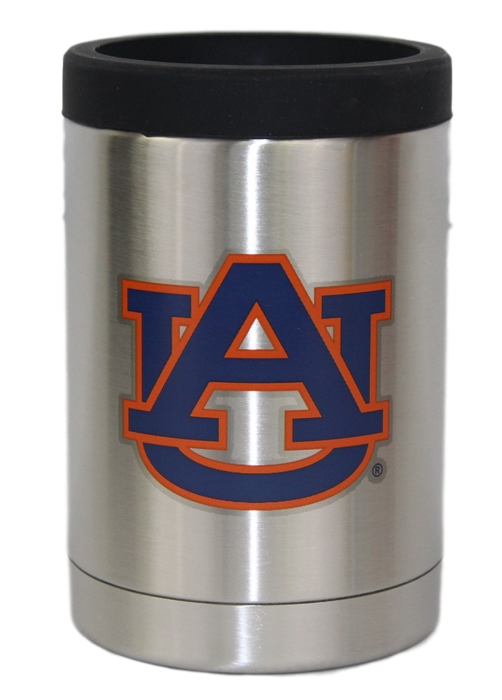 Auburn Tigers NCAA Stainless Steel Insulated 12oz Jacket with Seal