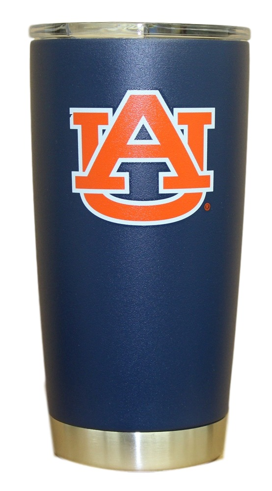 Auburn Tigers NCAA Stainless Steel Insulated 20oz Tumbler - Navy