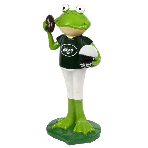 New York Jets NFL 12 Inch Frog Player Figurine