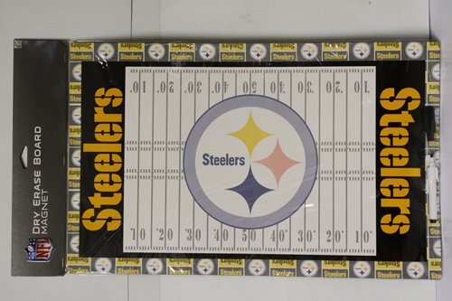 Pittsburgh Steelers NFL Dry Erase Board Wall Magnet
