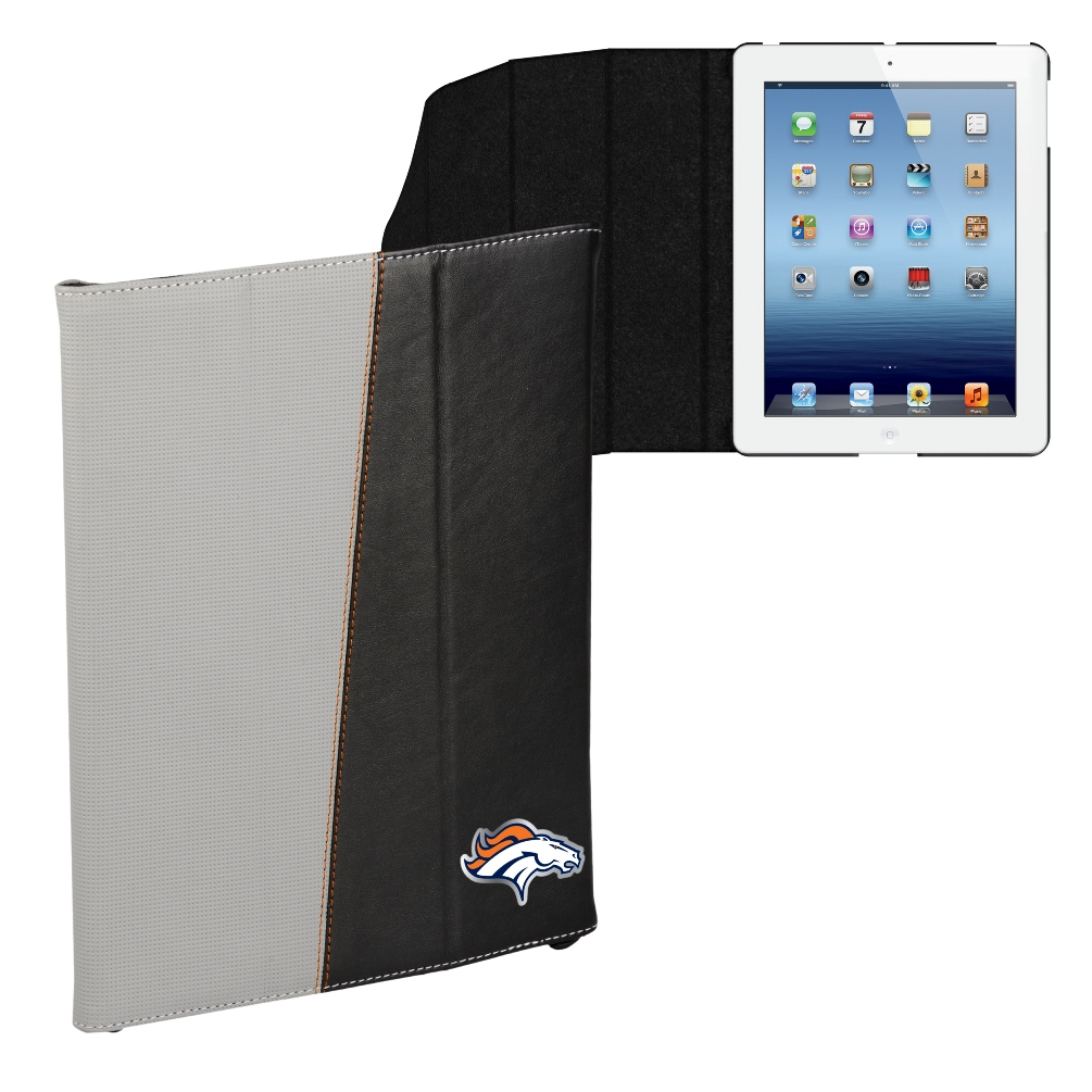 Denver Broncos NFL Executive Foldable iPad Tablet Premium Case