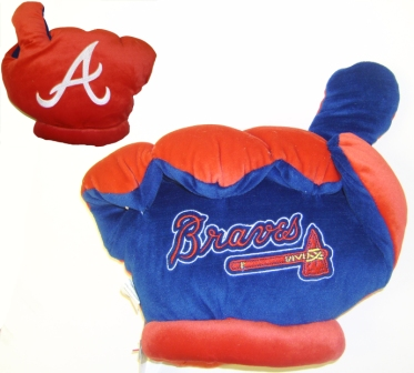 Atlanta Braves Officially Licensed Plush Fan Finger