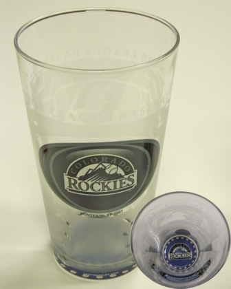 Colorado Rockies MLB 17 Oz. Glass