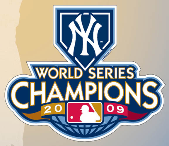 New York Yankees 2009 World Series Champions Magnet